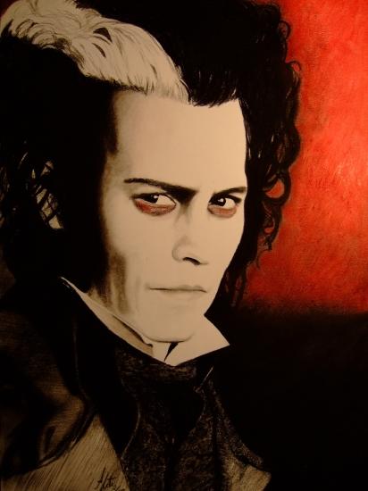 Johnny Depp by elanor